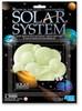 3D Glow Solar System Stickers
