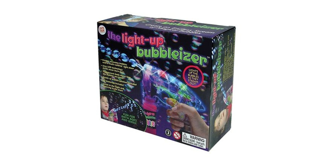 Bubbleizer Sensory Wonderland Bubble Gun