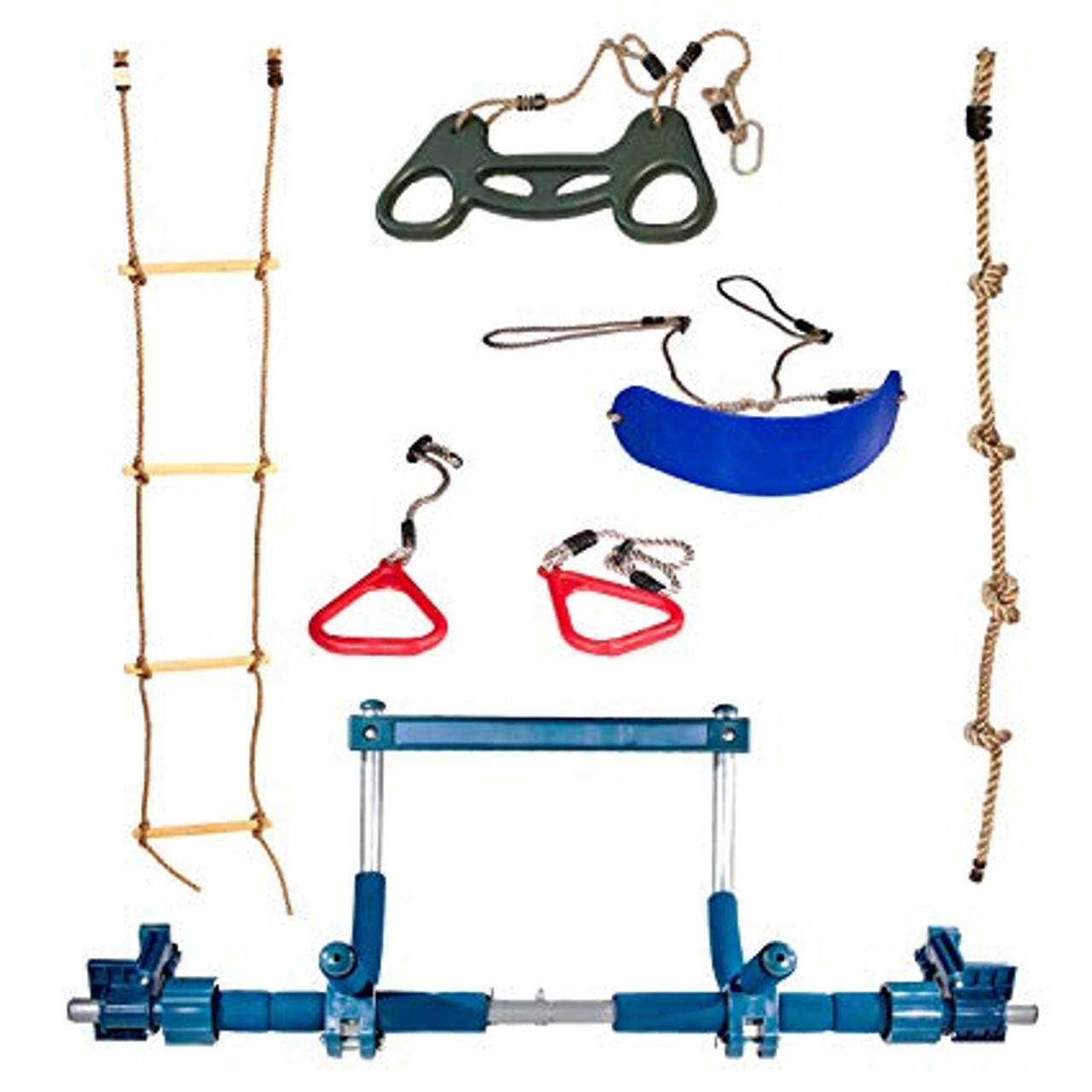 Gorilla Gym Sensory Swing System Indoor Playground Complete Set