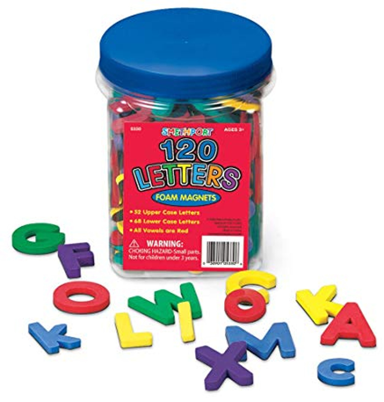 Magnetic Letters 120 pieces