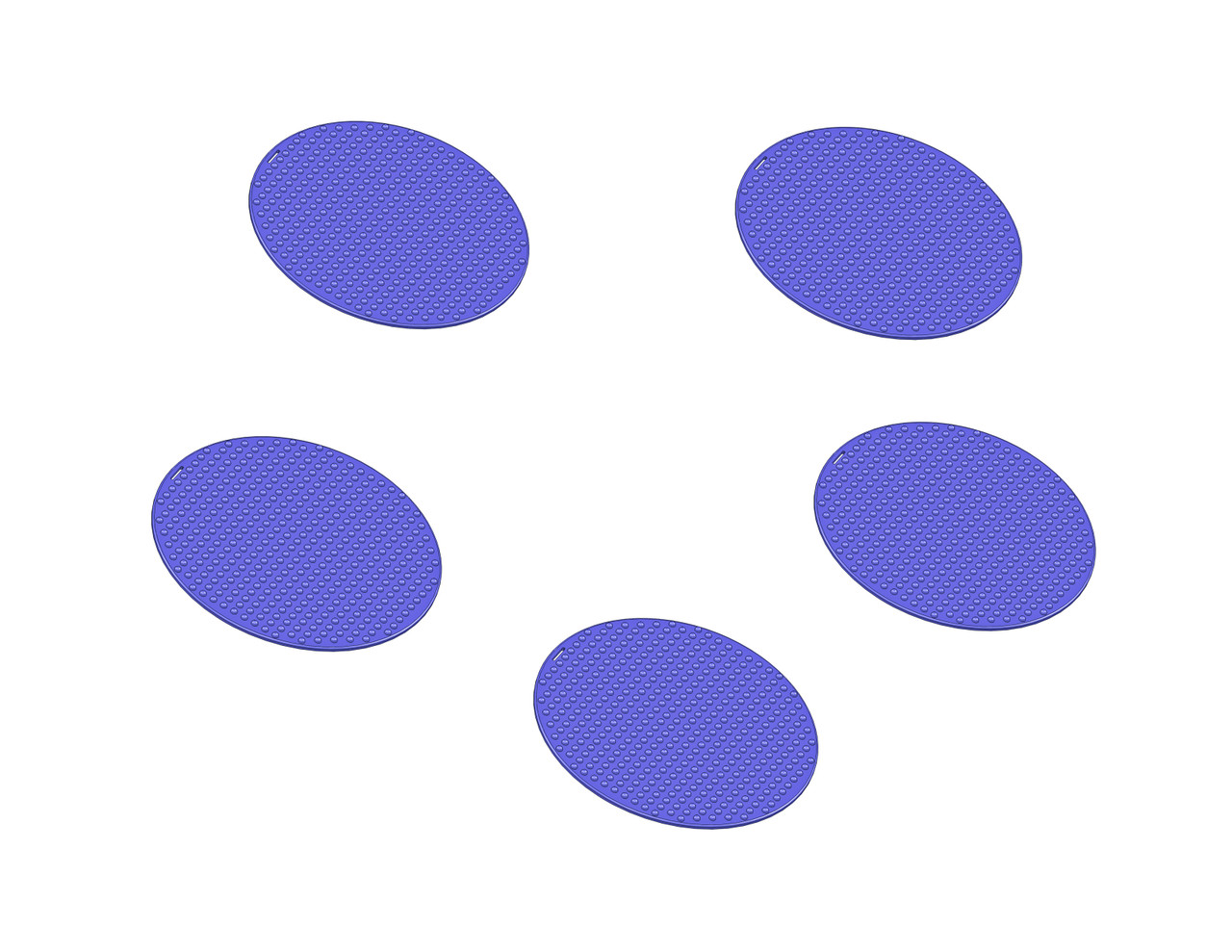 Busy Blue Spot Classroom Circle Time Seat Pack