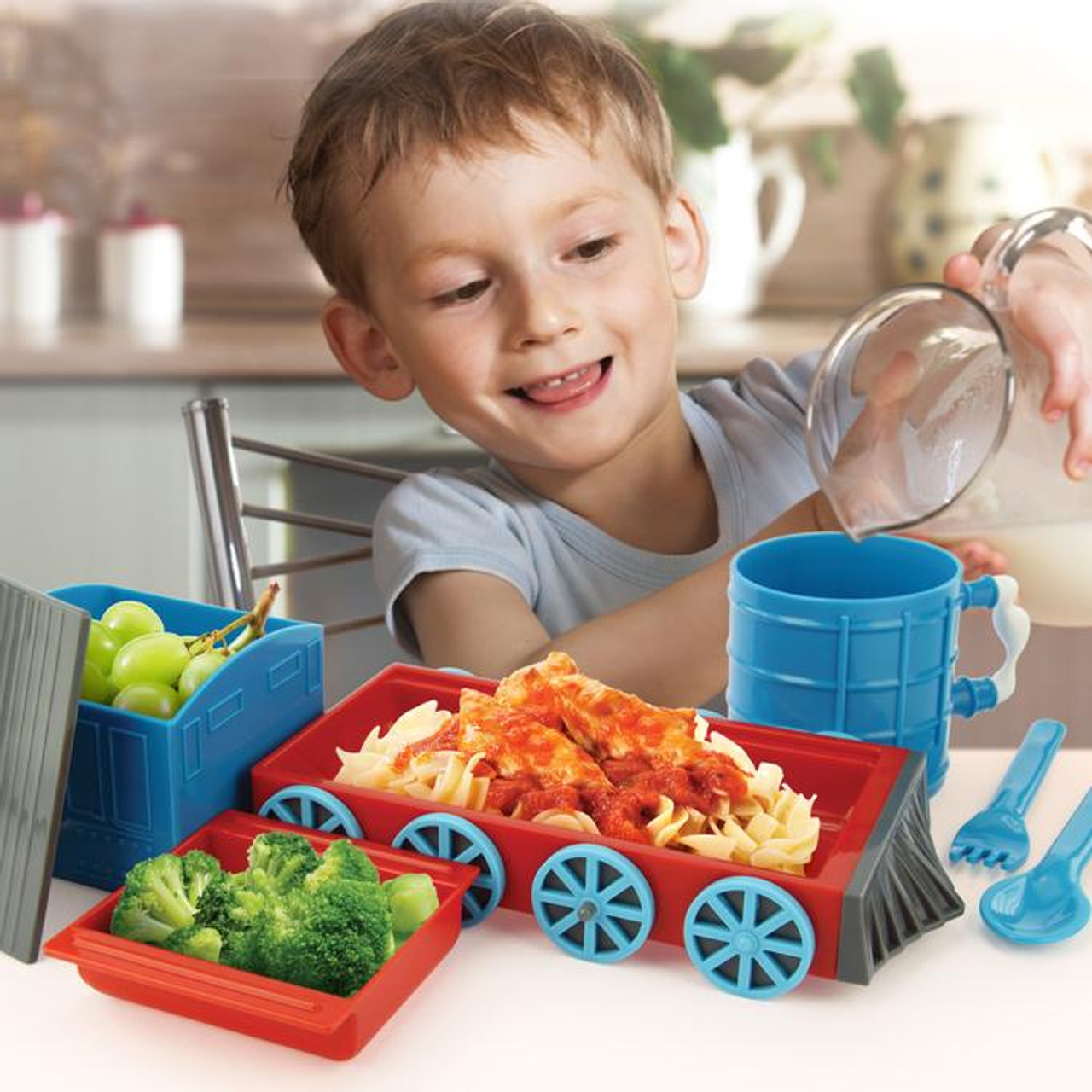 Chew Chew Train Complete Meal Kit