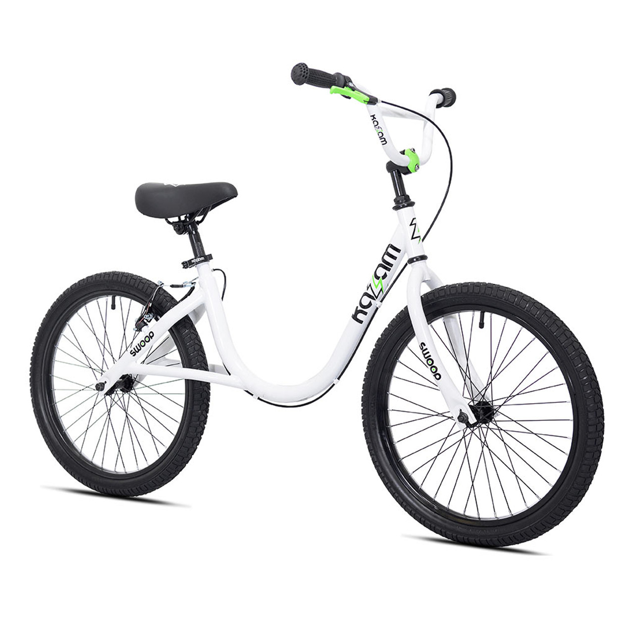 White Swoop Balance Bike