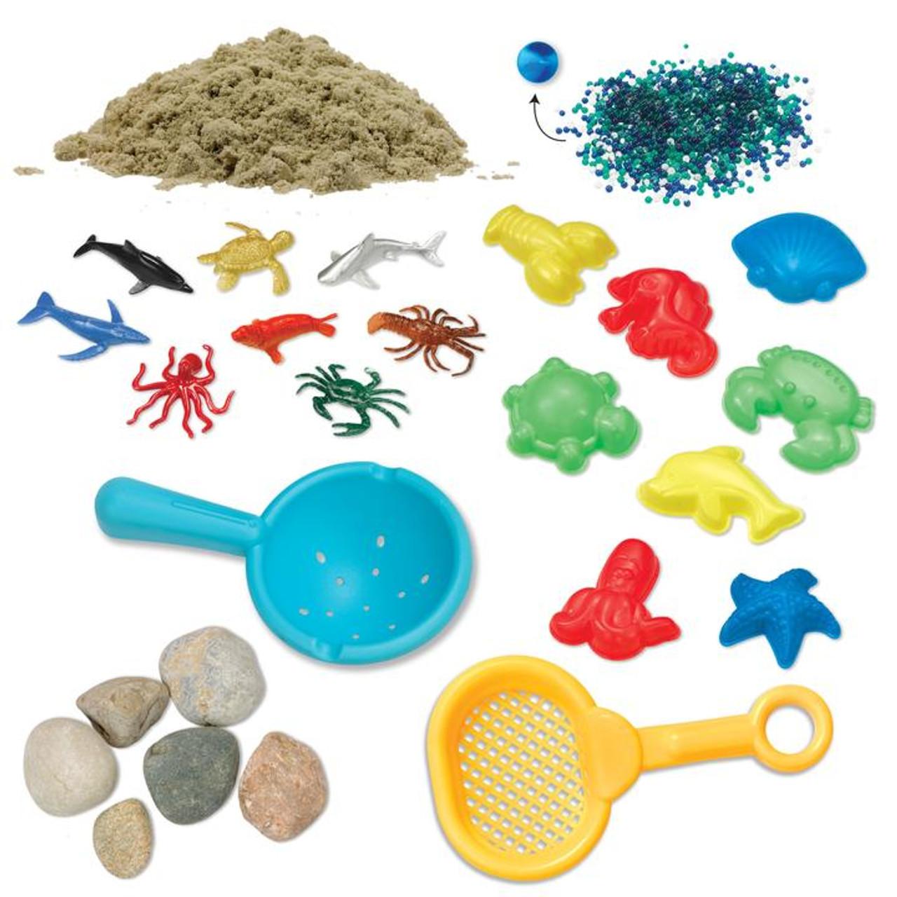 Ocean and Sand Sensory Bin