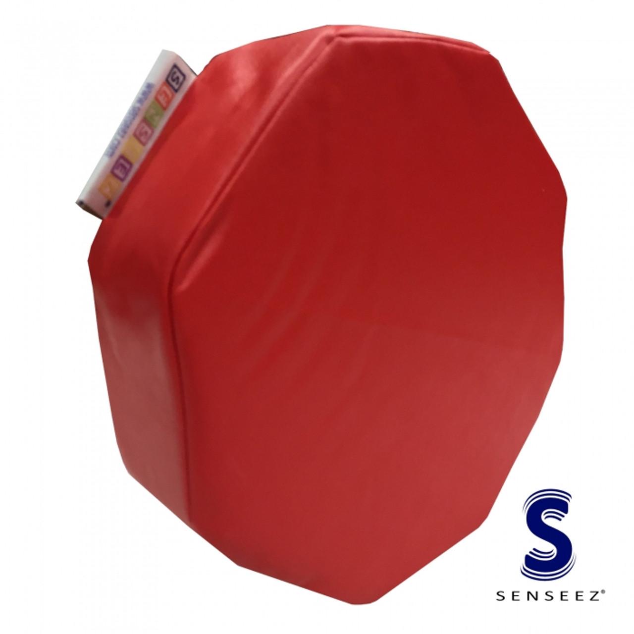 Senseez Vibrating Pillow Red Octagon