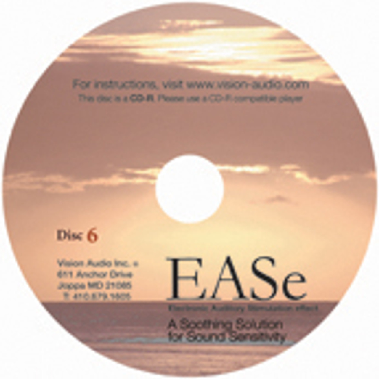 EASe Therapeutic Music CD 6