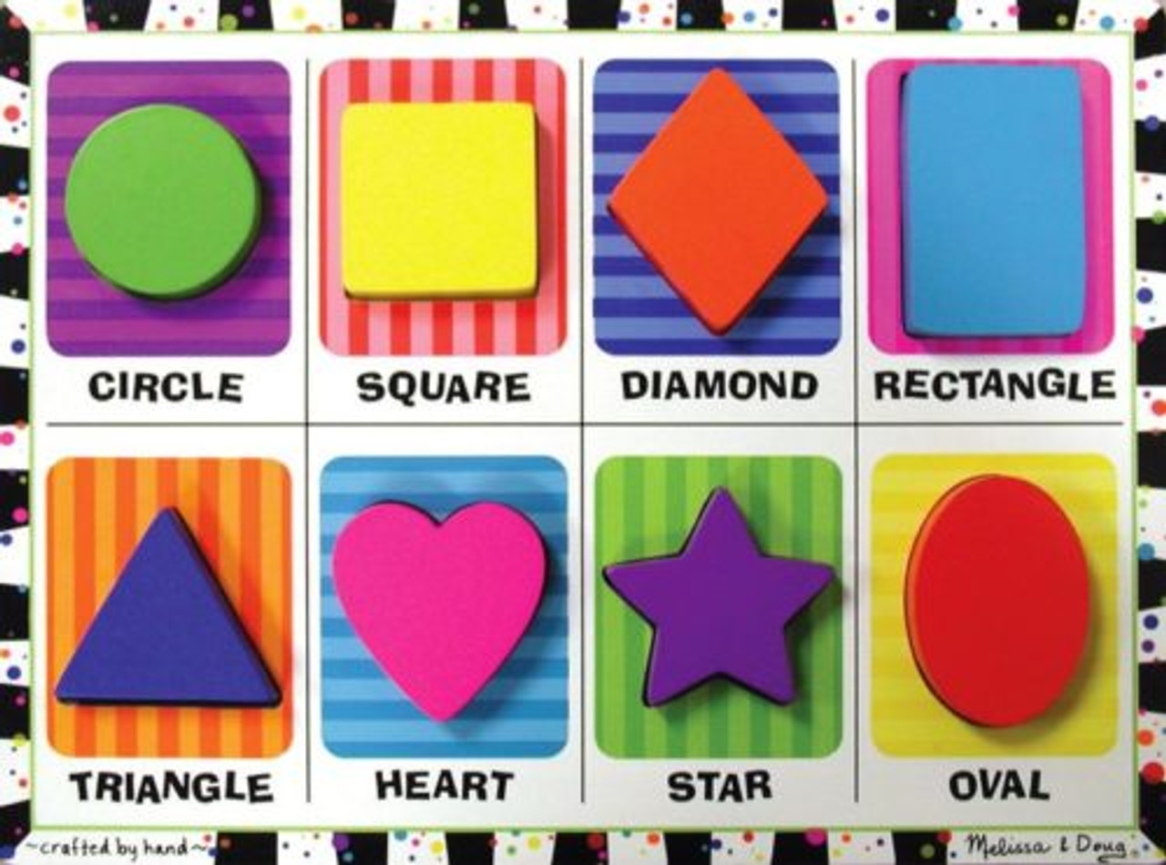 24 Shapes Chunky Puzzles