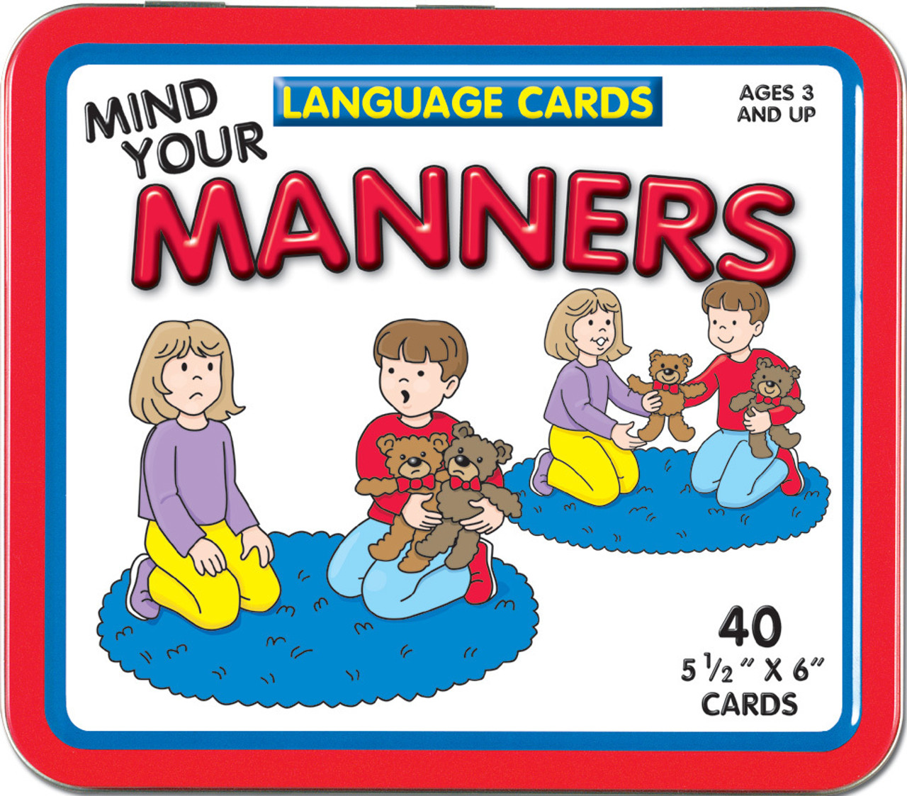 Mind Your Manners >> Mind Your Manners Language Cards