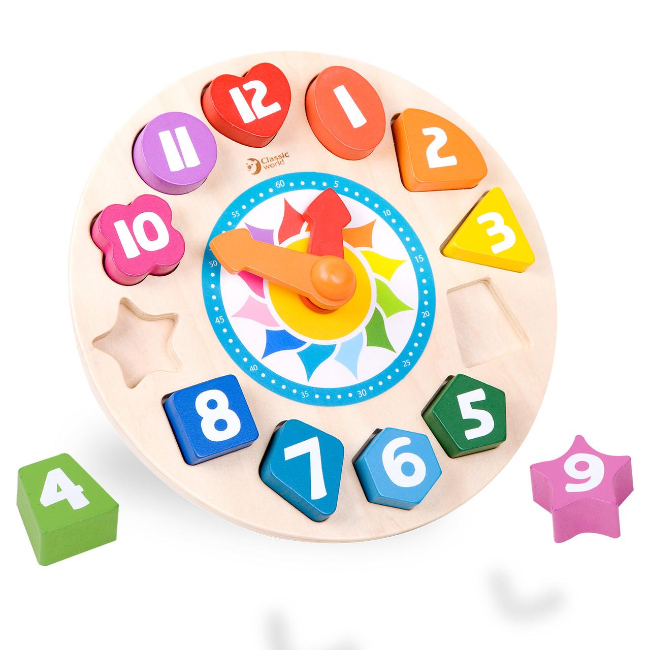 Wooden Tic Tac Clock