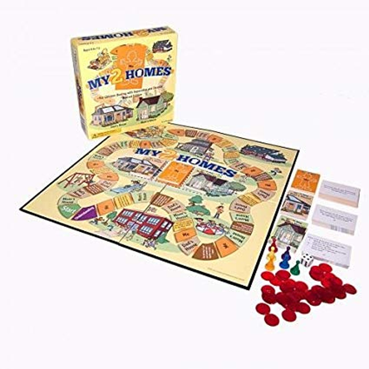 My 2 Homes Board Game