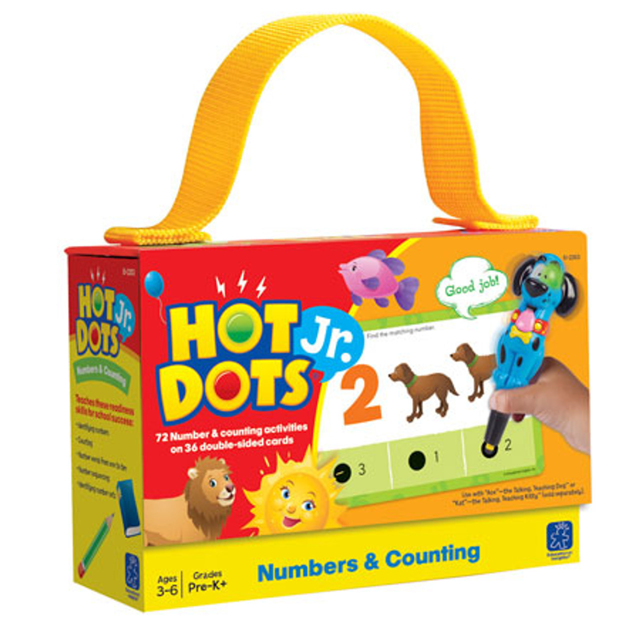 Hot Dots Jr Card Set Numbers and Counting