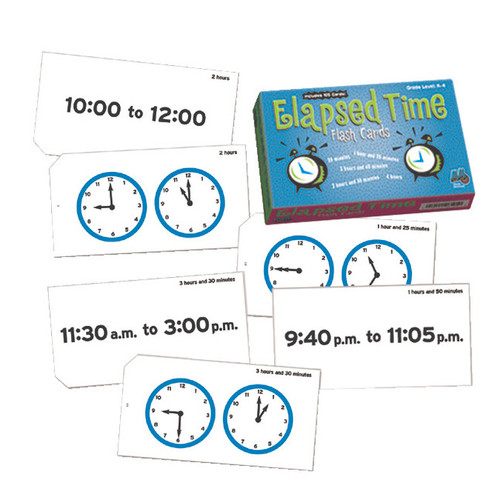 Learn to Tell Time Flash Cards