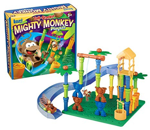 Tall Stacker Mighty Monkey Playset