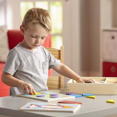 Beginner Pattern Blocks - Set of 6