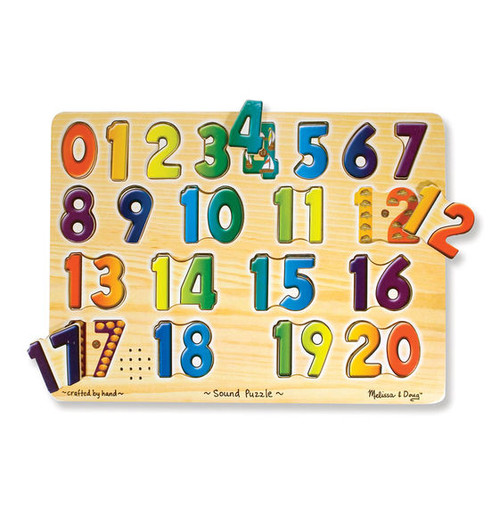 Numbers Sound Puzzle - Set of 3