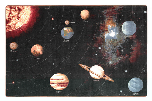 Solar System Carpet