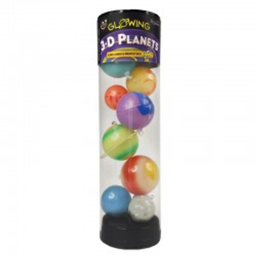 3 D Planets in a Tube