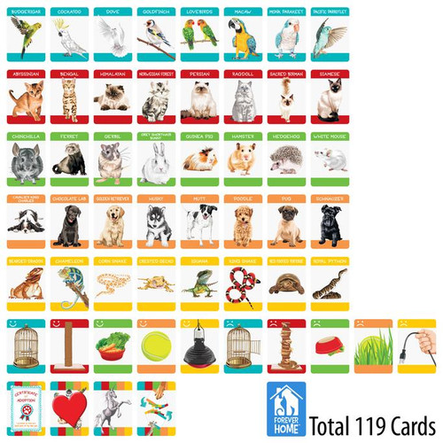 Forever Home Animal Rescue Matching Game
