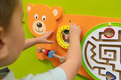 Bear Activity Wall