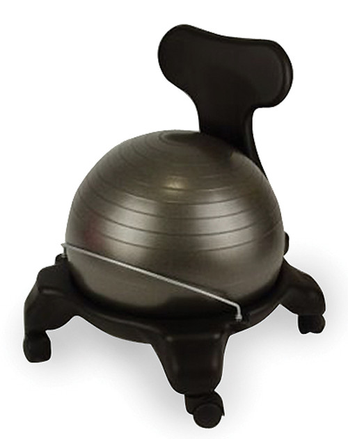 Fit Ball Chair with Back Support