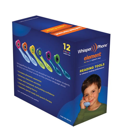 WhisperPhone Element Class Pack of 12