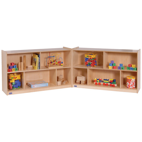 30 High Mobile Fold and Lock Storage Cabinet