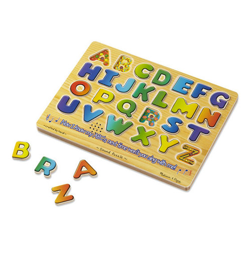 Alphabet Sound Puzzle - One