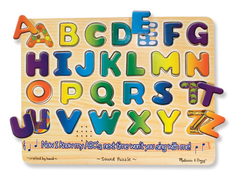 Alphabet Sound Puzzle - Set of 6