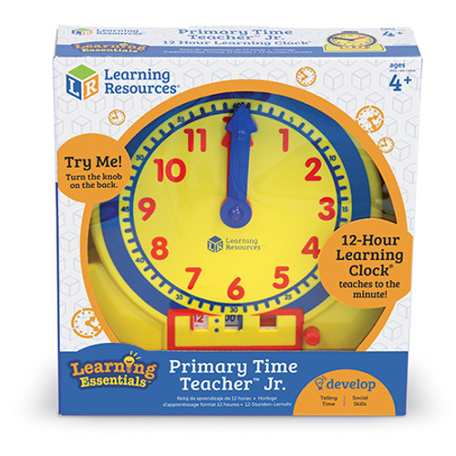 Primary 12 Hour Learning Clock