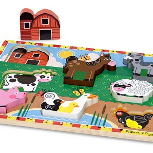 Farm Chunky Puzzle - Set of 3