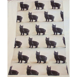 Manx Cat T Towel - Design by Simone Forster
