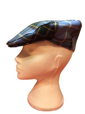 Manx Tartan flat cap
