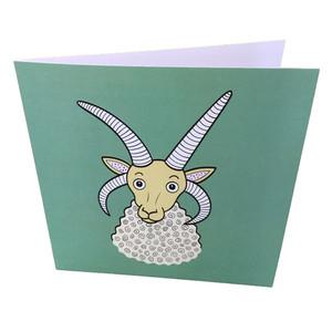 Manx Loaghtan Sheep card