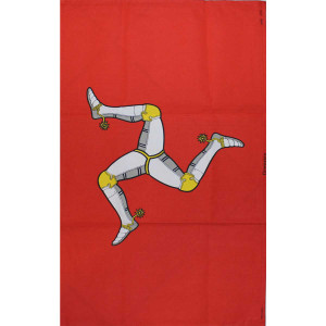 Manx Flag Tea Towel