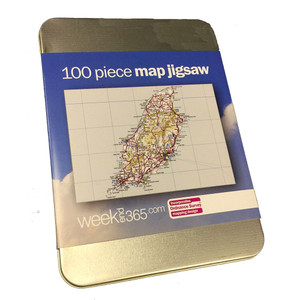 Isle of Man map jigsaw