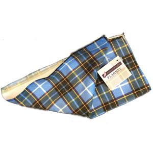 Manx tartan flannel