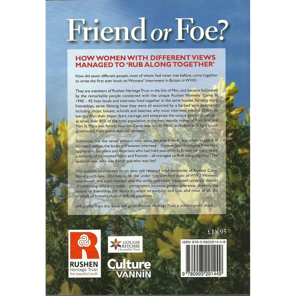 Friend or Foe? Back Cover
