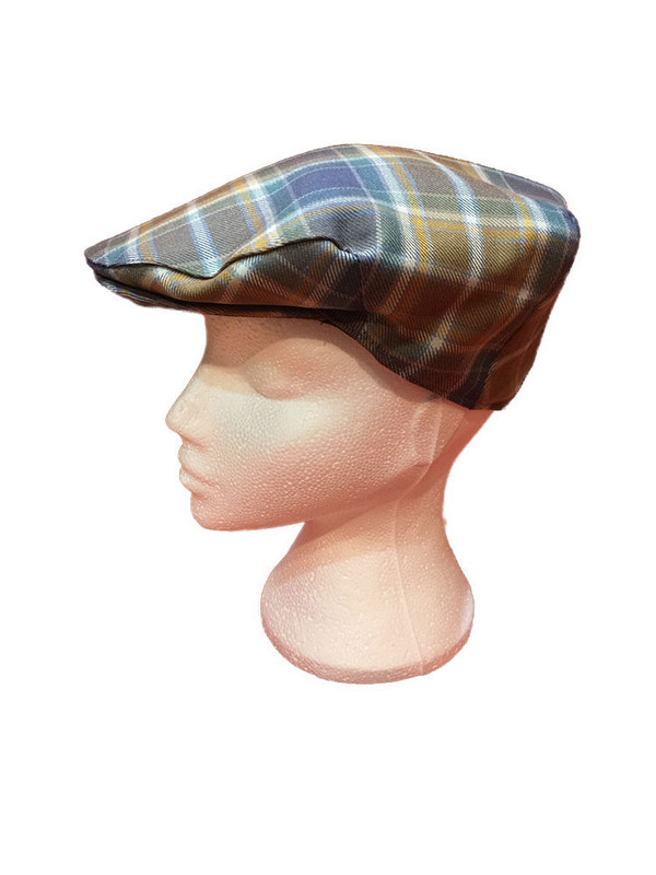 Manx Hunting Tartan Cap