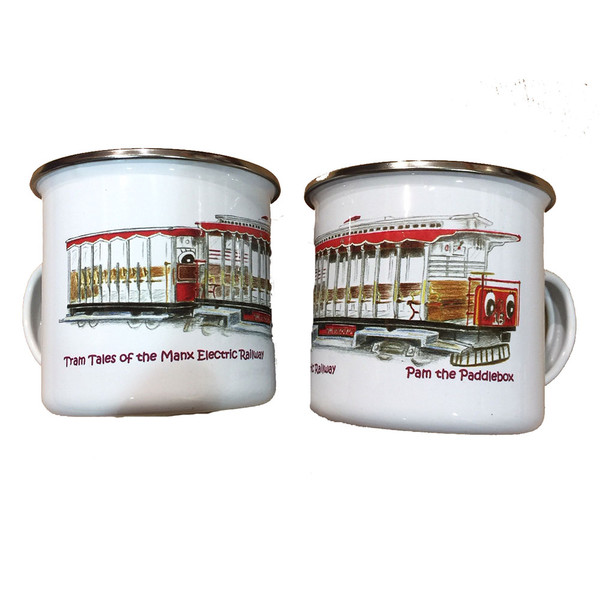 Electric Tram Tin Mug (Pam the Paddlebox)