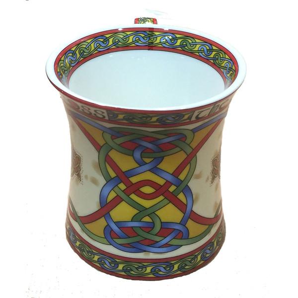 Isle of Man celtic knotwork mug