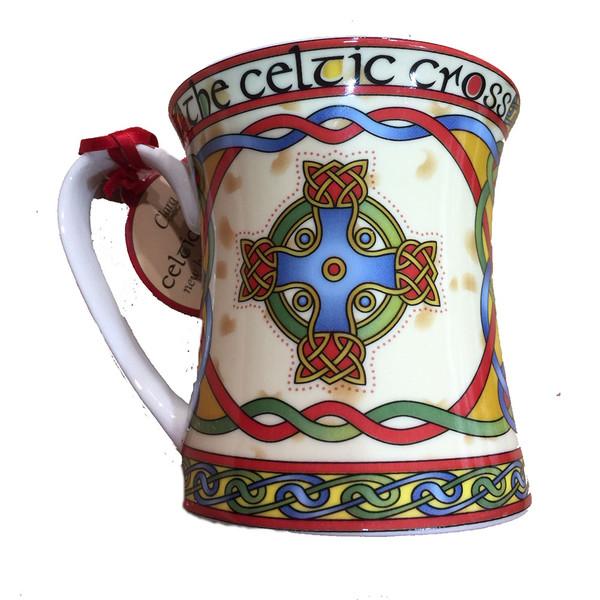Manx celtic  china mug