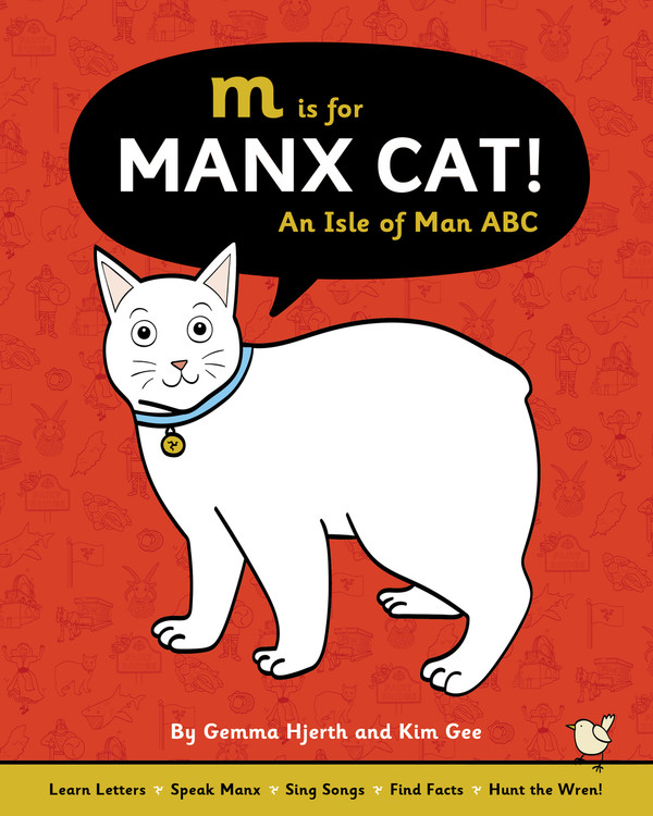 M is for Manx cat