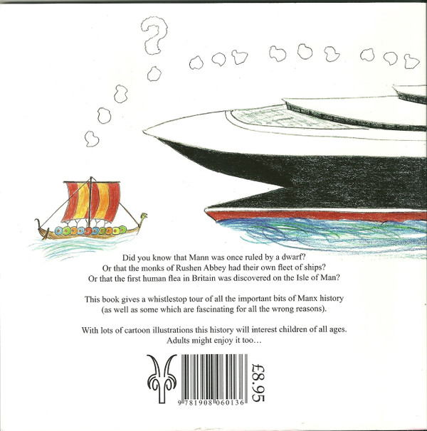 Back cover of A Young Manx History
