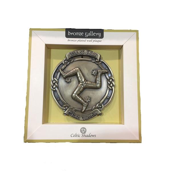 Bronze style 3 leg plaque