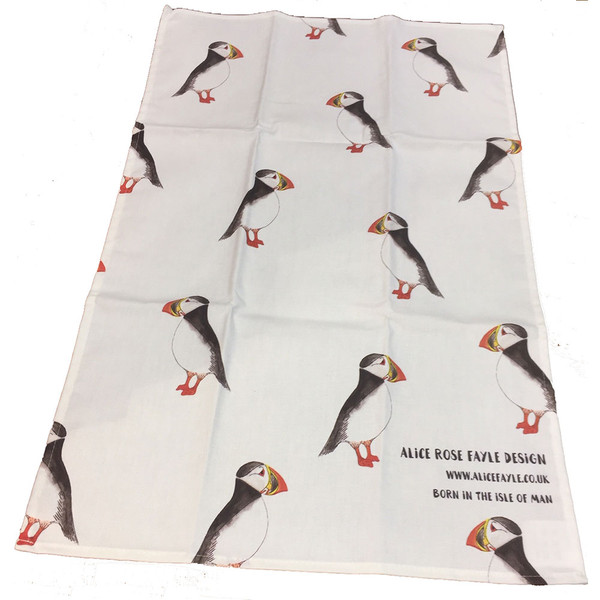 Alice Rose Fayle, Puffin Tea Towel