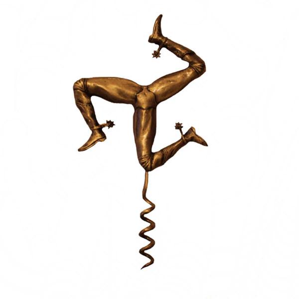 Pewter 3 Leg Corkscrew