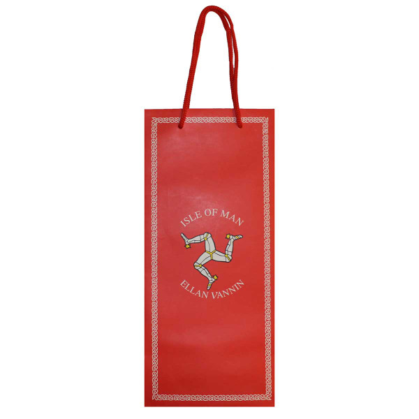 Red 3 Leg Bottle Gift Bag