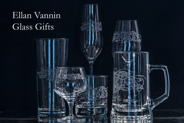 Some other items in the range featuring Julia Ashby Smyth's Ellan Vannin design