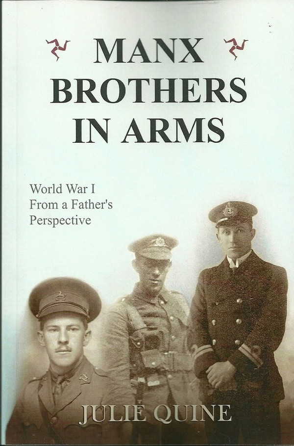 Manx Brothers in Arms front cover