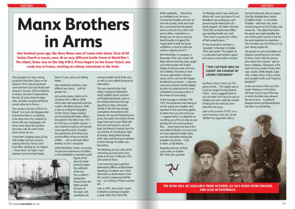 Manx Brothers in Arms review
